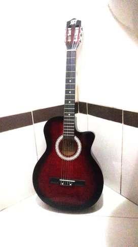 Guitarra nueva garantizada con estuche