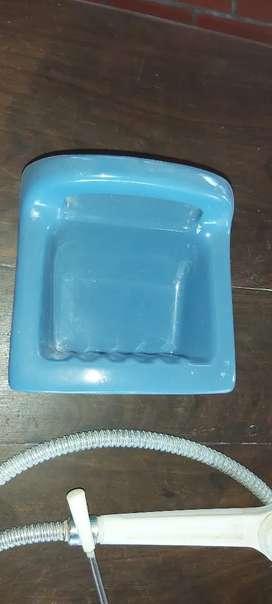 Jabonera (azul) de empotrar