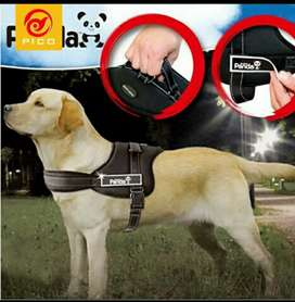 Chaleco correa pechera arnes de para perro mascotas pivo panda perros