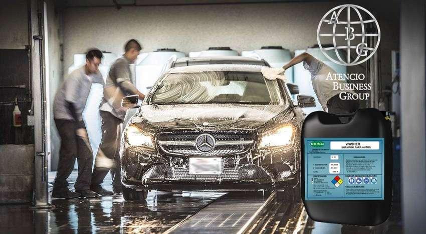 Químicos para lavar autos. TODO para la limpieza automotriz Shampoo, desengrasante, etc.