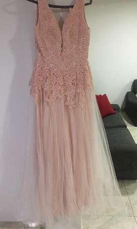 Vestido de quinceañera rosado