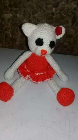 Muñecos tejidos amigurumi