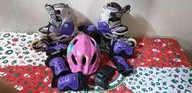Vendo patines semi profesionales