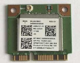 Realtek Rt8723be 802.11bgn 1x1 Wi-fi + Bt4.0 Combo Adaptador