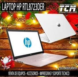 LAPTOP HP RTL8723DER BLANCO