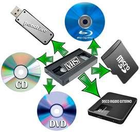 Convierto VHS a formato digital