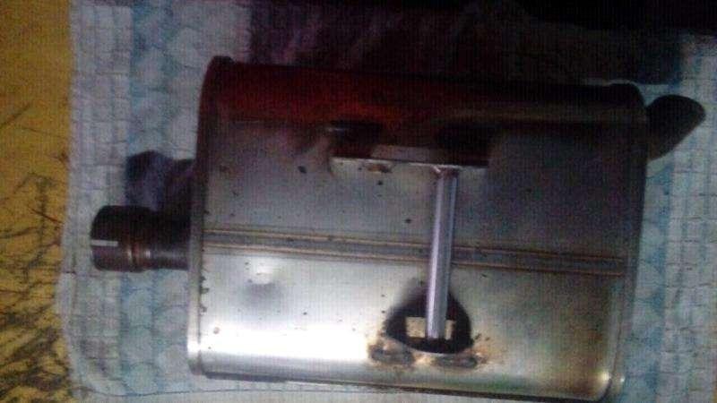 silenciador de kawasaki 650 original 0