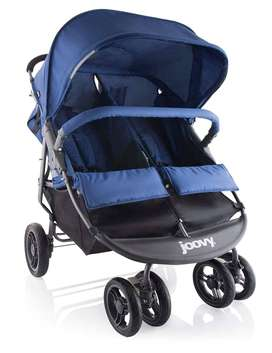 Coche Doble de bebe, Joovy Scooter X2, como nuevo usado 1 semana en USA