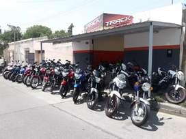 Track motos (recibo trajeta visa en 12 y 18 cuotas)