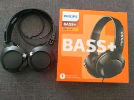 Audífonos Philips Bass+, Nuevos!!