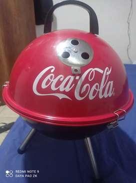 Mini asador nuevo Coca cola