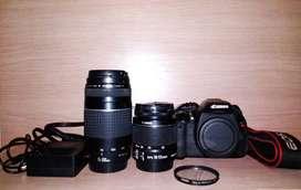 Canon T3i + Lente 18-55 + Lente 75-300 Usada