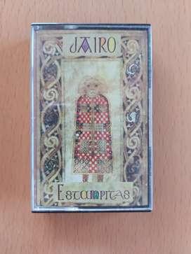 Cassette Jairo estampitas muy buen estado