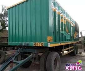 Se vende carreta de camion