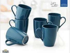 6 MUGS CORONA TERRAZO BY JORGE RAUSH