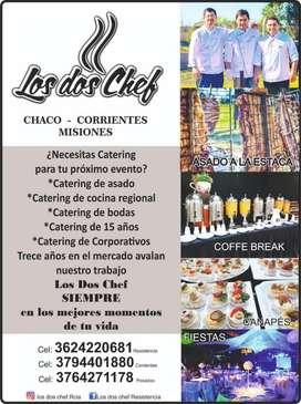 Servicio de Catering Los Dos Chef Resistencia