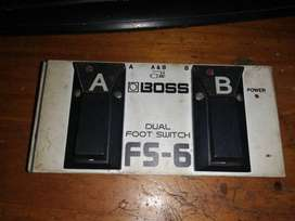 Pedal Foot Switch Boss FS-6