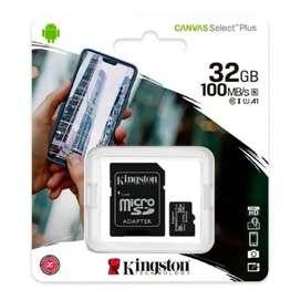 Memoria Micro Sd Kingston 32gb Canvas Select Plus 100mb/s