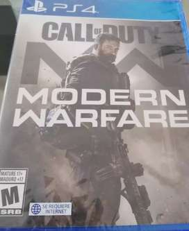 Call of Duty Modern Warfare PS4 Sellado