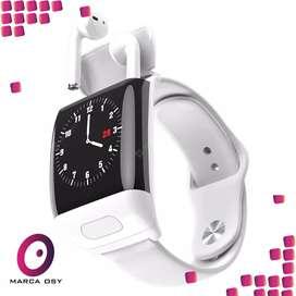 Reloj inteligente con auricular interno