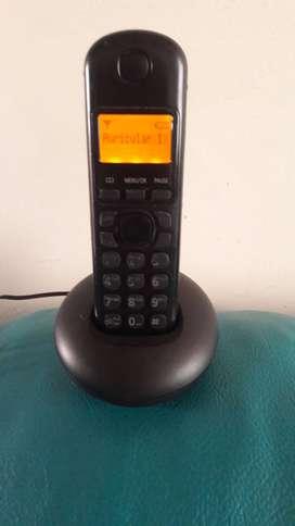 Panasonic con identificador de llamadas