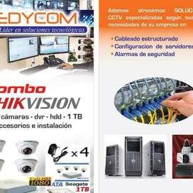 TECNICO CCTV, SISTEMA CONTRAINCENDIOS, ENLACE