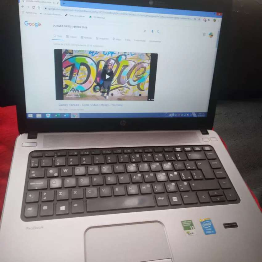 Hp probook 4 generación cori3 8ram 0