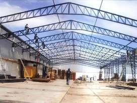 galpones y cubierta Estructuras Metálicas
