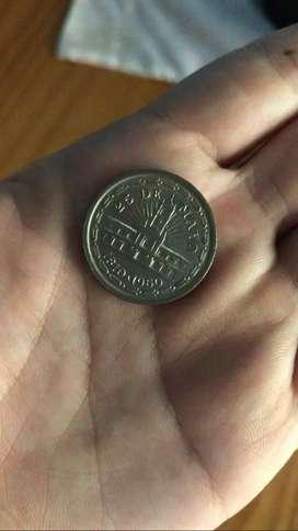 Monedas y billetes antiguas argentinas