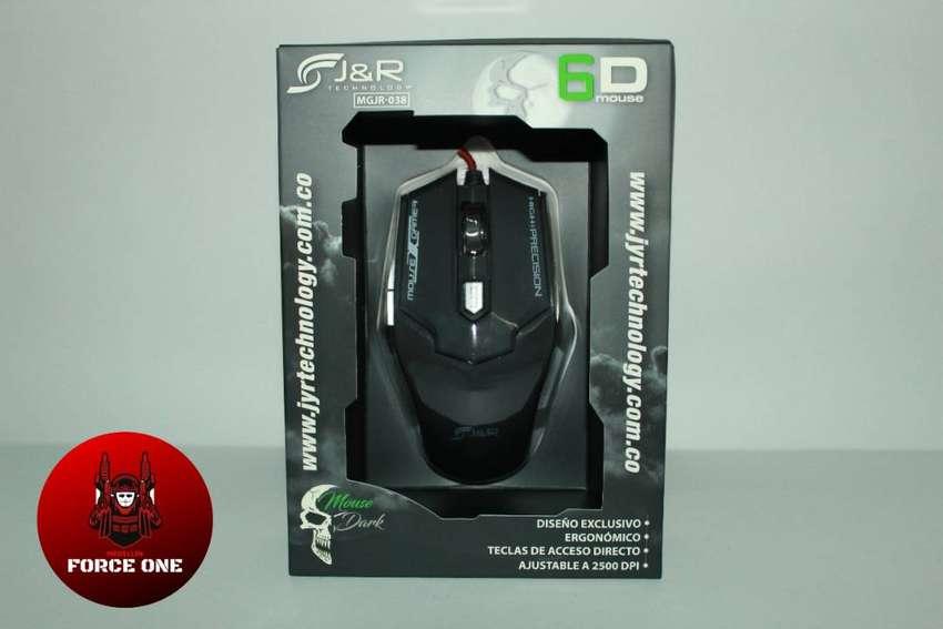 Mouse Gamer Profesional DARK LED 7