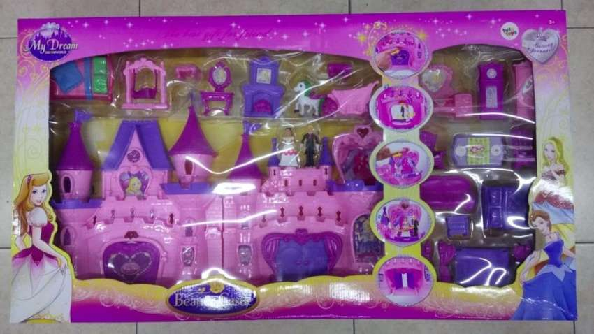 castillo grande princesa juguete niña my dream