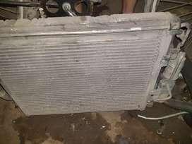 Vendo radiador completo de renault kangoo clio diesel completo