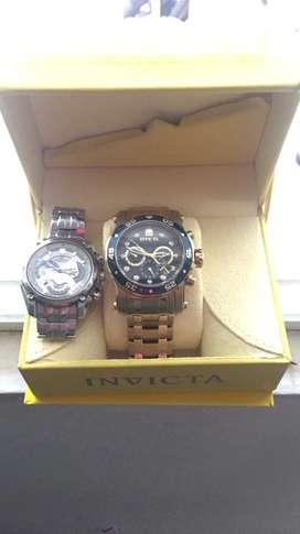 Reloj invicta pro driver y reloj edifice ef-550D