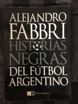 Libro historias negras del futbol argentino