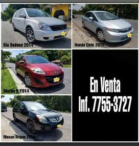 Vehiculos disponibles