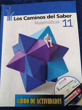 LOS CAMINOS DEL SABER 11 (MATEMATICAS)