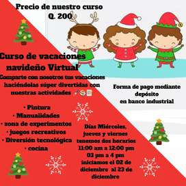 Curso navideño Virtual