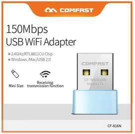 Mini USB Wifi 150mbps Nano 2.4ghz Tarjeta de Red PC