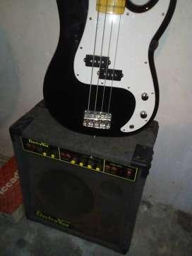 Bajo eléctrico + ampli
