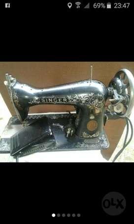 Máquina de Coser Singer Antigua Eléctric