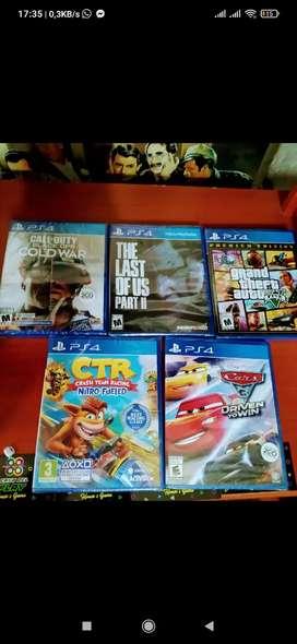 Juegos de play 4 nuevos sellados
