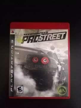 Need For Speed Pro Street PS3 Play 4 Cambio o Vendo