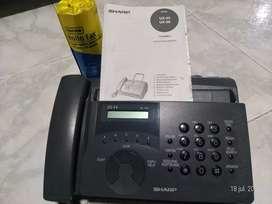 Teléfono Fax Sharp UX44