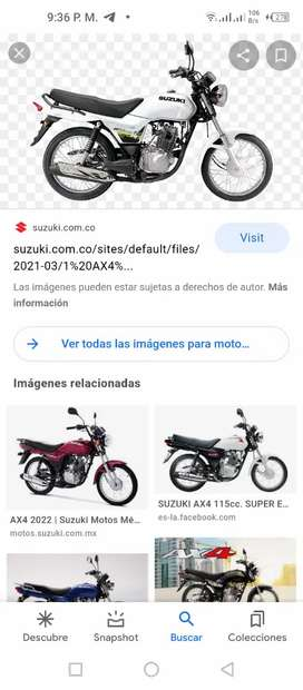 Vendo moto año 2021 nueva de oportunidad por viaje