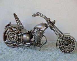 Miniatura de Metal para motocicleta