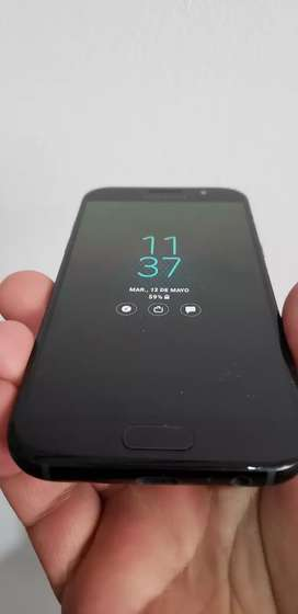 Samsung a5 2017 impecable sin uso con cargador y auriculares huella monte grande