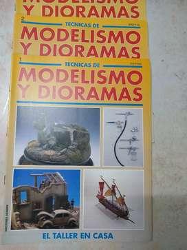 Tecnicas Modelismo y dioramas fasciculo 1-2-3 perfecto