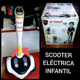 Scooter eléctrica infantil