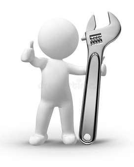 Busco trabajo como ayudante técnico