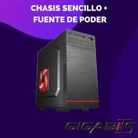 Chasis Sencillo + Fuente Thunder